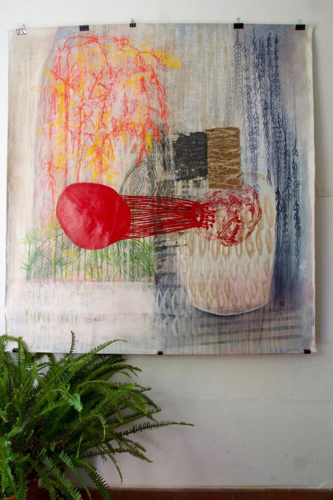 garden // garden // 2017 // Öl & Acryl auf Leinwand // 160 x 180