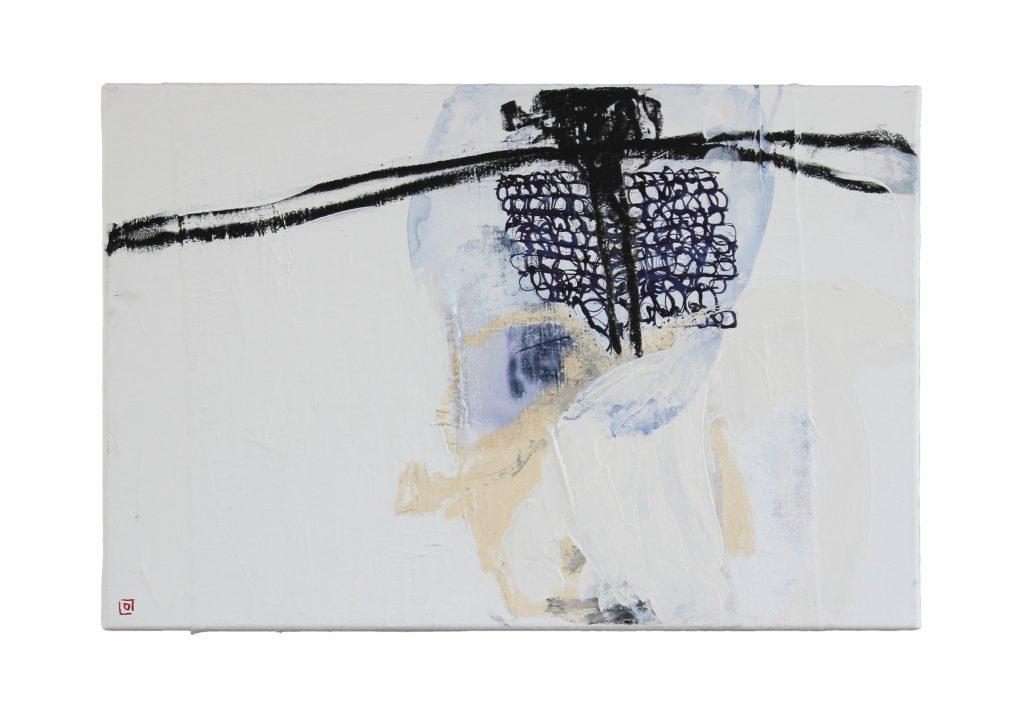 grandmothers picture // sense memory // 2019 // Acryl & Öl auf Leinwand // 40 x 60